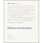 Relatos mexicanos (CD)