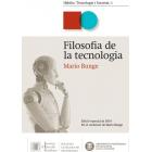 Filosofia de la tecnologia (Edició especial en el centenari de Mario Bunge)