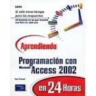 Aprendiendo programación en Ms Access en 24 horas