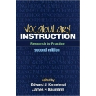 Vocabulary Instruction: Research to Practice
