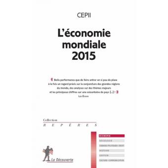 L'économie mondiale 2015