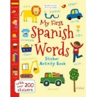 My First Spanish Words (Bloomsbury Activity Books)