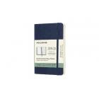 Moleskine* Agenda Semanal-Cuaderno 18 meses Pocket (rústica-azul)
