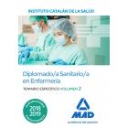 Diplomado Sanitario del Instituto Catalán de la Salud (En Castellano temarios específicos). temario específico Volumen 2
