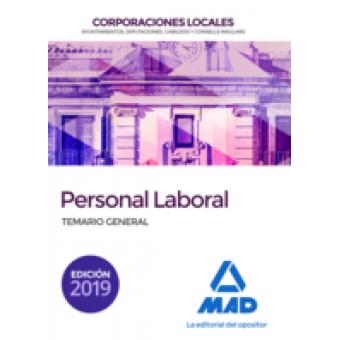 Personal laboral de Corporaciones Locales Temario General (2019)