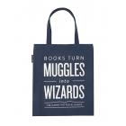 Books Muggles Wizard Tote-1062