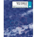 Clarke's analysis of drugs and poisons (Text edition, 2 vols.)