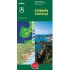 Mapa de carreteras de Cataluña 2005