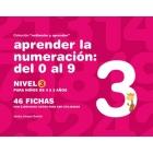 Aprender la numeración del 0 al 9 . Nivel 3