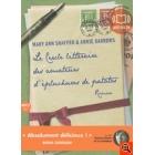 Le Cercle littéraire des amateurs d'épluchures de patates Audio Livre - 1CD mp3