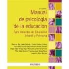 Manual de psicologia de la educación para docentes de Educación Infantil y primaria