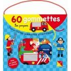 Les Pompiers - Tes activités gommettes et coloriages (Malette + 60 gommettes avec un poster à colorier)