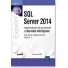 SQL Server 2014 implementación de una solución de business inteligence