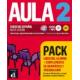 Aula 2 (A2). Pack libro más complemento de gramática y vocabulario