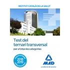 Test del temari transversal per a totes les categories (2018)