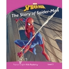Marvel Spider-Man - The Story of Spider-Man - Pearson English Kids Readers: Level 2