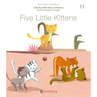 Little by little: My first readings in English #11 - Five little Kittens