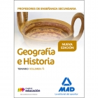 Profesores de Enseñanza Secundaria Geografía e Historia Temario volumen 4
