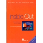 Inside Out Pre-intermediate Workbook with key (Includes Audio Cd)