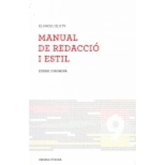 Manual de redacció i estil (El 9 Nou/ El 9 TV)