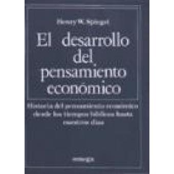 El desarrollo del pensamiento económico