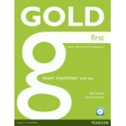 Gold First Exam Maximiser (First Certificate in English) with Key and Audio CD Pack