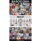 Barcelona Mapa (inglés)