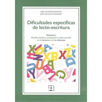 Dificultades especificas de lectoescritura - Volumen 1