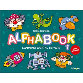 Alphabook learning capital letters