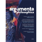 Argumenta philosophica 2019 - Vol. 2