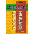 Diccionario español portugués. Portugués - español