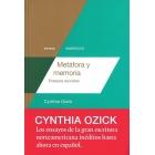 Metáfora y memoria: ensayos reunidos