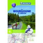 Mapa Bourgogne à Vélo