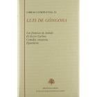 Obras completas, II (Las firmezas de Isabela / El doctor Carlino / Comedia venatoria / Epistolario)
