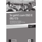 So geht's zum DSD II (B2/C1) - Lehrerhandbuch + Audio-CD zum Testbuch
