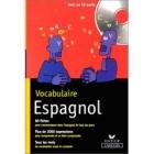 Vocabulaire Espagnol (+ CD audio)