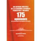 Un enfoque múltiple de la economía española: principios y valores. 175 opiniones de los principales investigadores de España