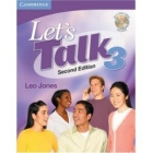 Let's Talk 3 Student's Book with Self-Study Audio CD. Second Edition