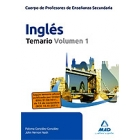 Cuerpo de profesores de enseñanza secundaria Ingles temario Vol 1