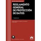 Reglamento General de Protección de Datos. Contiene introducción al Reglamento, concordancias e índice analítico.