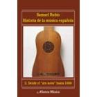 Historia de la música española, vol.2: Desde el