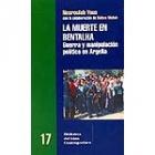 La muerte en Bentalha. Guerra y manipulación política en Argelia