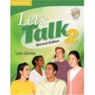 Let's Talk  2 Second edition Student's Book with Self-study Audio CD