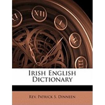 Irish English Dictionary Paperback