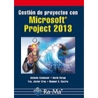 Gestión de proyectos con Microsoft Project 2013