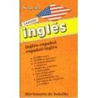 Lexicón inglés. Inglés español, español inglés