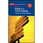 IGCSE English as a second language : a selection of past listening papers (casete)