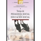 Temas de pedagogía social. Educación social
