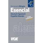 Vox diccionario esencial. Deutsch-Spanisch/ Español-Alemán