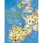 Atlas  para niños Planeta Tierra. Mapas y vídeos para descubrir el mundo y el espacio